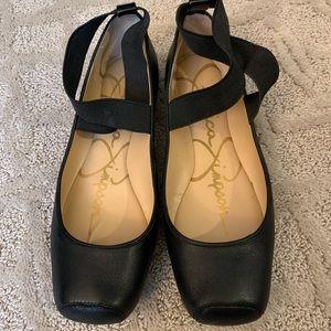 SALE Jessica Simpson Size 8 Ballet Slipper Blk